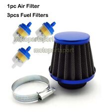 Pit Dirt Bike 38mm Air Filter Fuel Clearner 50 110 125 cc ATV Quad Scooter Moped