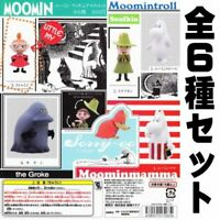 Capsule MOOMIN Moomin figures mascot All 6 set Gashapon mascot toys