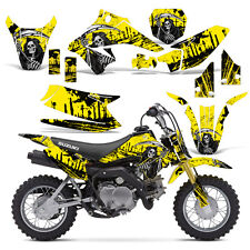 Decal Graphic Kit Suzuki DRZ 70 Dirt Bike Sticker Backgrounds DRZ70 15-16 REAP Y