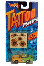 1993 Hot Wheels Tattoo Machines Eye-Gor Porsche