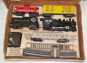 American Flyer  Starter Set 20705 Working or under Christmas Tree NO RESERVE !