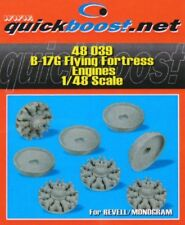 Quickboost 1/48  B-17G Flying Fortress Engines for Revell / Monogram # 48039
