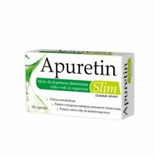 APURETIN SLIM CAPSULES A60 help eliminate excess water from the body