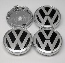4x 60mm VW Wheel Center Caps Emblem-  Cover Hub TYPE BBS