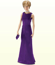 Franklin Mint Princess Diana Purple Versace Gown Ensemble for Vinyl Doll, NIB