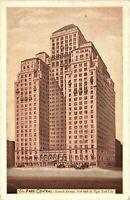 Vintage Postcard - 1938 The Park Central Hotel Building New York NY #4979