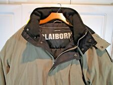CLAIBORNE Down Filled Ski JACKET Detach Hood Women TAUPE XXL 54 Chest Insulated