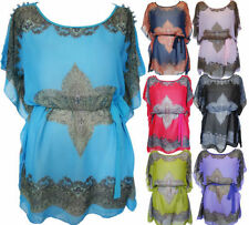 Paisley Polyester Tunic Tops & Blouses for Women