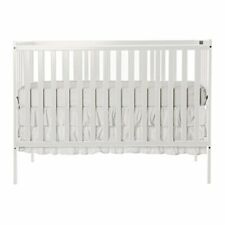 NEW Dream On Me Synergy 5 in 1 Convertible Crib White FREE SHIPPING