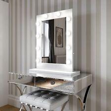 Hollywood Bianco Lucido Specchio nessuna base Muro Appeso solo £ 230 vendita 170