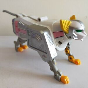 1998 Power Rangers Lost Galaxy White Wildcat Zord, Deluxe Megazord Arm Part