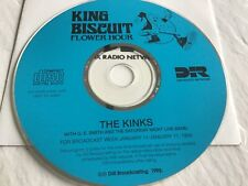 The Kinks - King Biscuit Flower Hour Radio promo cd 1/11-17/93