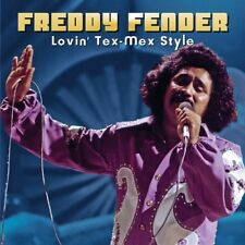 FREDDY FENDER-LOVIN' TEX-MEX STYLE 20 LIVE AND ALTERNATE STUDIO TRACKS  CD NEU