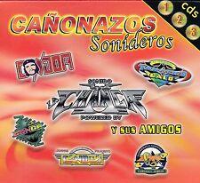 Sonido Condor,Sonido La Changa,Sonido Candela,La Conga 3cds NEW SEALED
