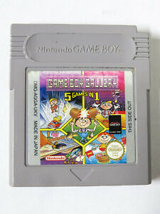 Gameboy Gallery 5 Games In 1 Nintendo Gameboy Tested Marios Cement Factory
