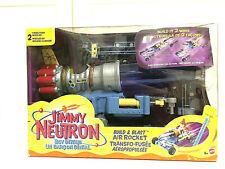 Jimmy Neutron Boy Genius Build & Blast Air Rocket New Set 50143