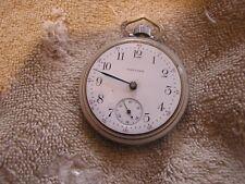 Antique American Waltham Watch Co. Pocket Watch Safety Pinion