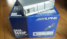 ALPINE 6 DISC DVD CHANGER ORIGINAL BOX COMPLETE PACKAGE REFURBISHED
