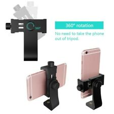 Cell Phone Tripod Adapter Holder Smartphone Universal Stand Mount Adapter Kit US
