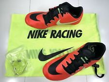 Nike Zoom JA Fly 3 Track Spikes Running Shoes Red Black Lime Crimson 865633-663