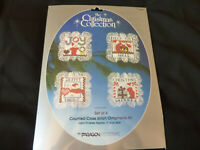 Paragon Needlcraft Counted Cross Stitch Ornaments Kit Christmas