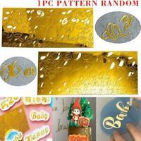 Acryl Alphabet Kuchenform Presse Ausstecher Küche Kuchen Dekorationswerkzeug DIY