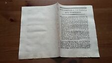 Suplemento a la Gazeta del Gobierno Junio 1809 Cádiz Guerra de la Independencia