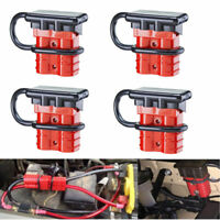 Trailer Devices Auto Car Wire Harness Plug Connector for Recovery Winch Micrl 4 Pcs 1//0AWG 175A Battery Quick Connect Disconnect