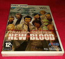 TRAUMA CENTER NEW BLOOD NINTENDO WII NEUF SCELLE VERSION 100% FRANCAISE