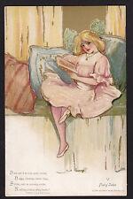 c1908 Schmucker Fairy Tales book Childhood Days series postcard