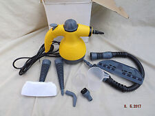 HAND HELD STEAM CLEANER,FULL TOOL KIT,EXTENSION HOSE,LONG CABLE,UNUSED FROM NEW,