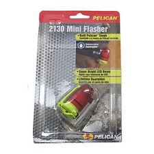 New PELICAN ™ 2130 YELLOW LED MINI FLASHER Strobe Beacon FLASHLIGHT