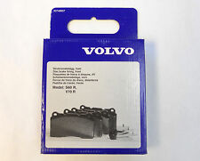 Genuine Volvo 2004-2005 V70R S60R Front Brake Pads Set NEW OEM (see VIN req)