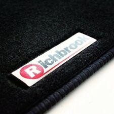 Richbrook Car Floor Mats for Toyota Previa 7 Seater MPV 00-06 - Black Ribb Trim