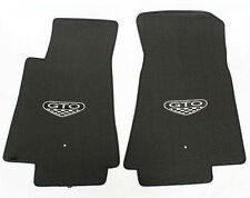 NEW! FLOOR MATS 2005-2006 PONTIAC GTO CREST Embroidered Logo Carpet Set of 2