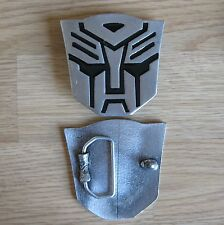 Transformers cartoon belt buckle (choice colors)