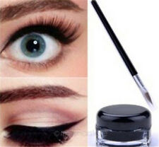 New Lady Waterproof Eyeliner Gel Makeup Cosmetic + Brush Set Make Tool CUB