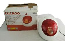 Cuckoo CR-0351F Electric Non-stick LCD Display 3 cup Heating Rice Cooker Red
