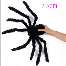 1 X Black Spider Halloween Decoration Toy for Haunted House 75cm