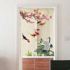 """Oriental Door Noren Curtain Hanging Half Short Room Divider 30x47"""" Style 4"""
