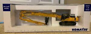 Universal Hobbies UH8011U - Komatsu PC450LCD Long Reach Excavator - 1:50 Scale