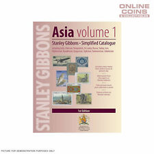 Stanley Gibbons Asia Volume 1 Simplified Catalogue 1st Edition Soft Cover Book