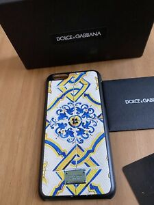 Dolce Gabbana iPhone 6 Case - Majolica Pattern - Comes With Dolce Box