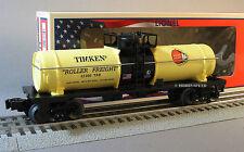 LIONEL TIMKEN TANK CAR MADE IN THE USA die-cast metal trucks train prr 6-81200