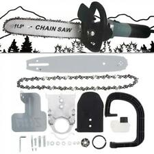 Electric Chainsaw Stand Set Cutting Tools Grinder Conversion Head Tree Bracket