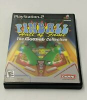 Pinball Hall of Fame The Gottlieb Collection - Complete PlayStation 2 PS2 Game