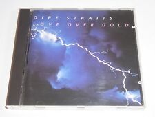 Dire Straits: Love Over Gold - CD ALBUM Red Swirl Disc Made In Germany Straights