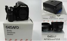 Mamiya 645 AFD II Body with 80mm F2.8 Lens, Hood, Strap & HM401 Film Back w/ Box