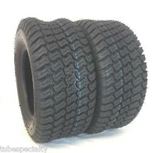 TWO 20X10.00-10 Wanda Lawn 20X10-10 4 Ply Rated Lawn Mower Set of Two Tires