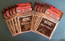 10 Lot AC / DC Back In Black Rock Music Iron On Hat Jacket Backpack Patches B